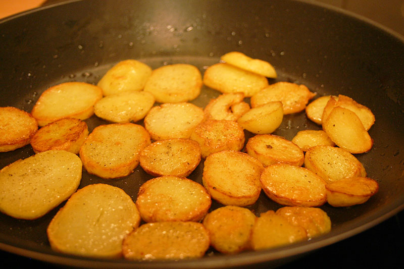 Bratkartoffeln-Pfanne
