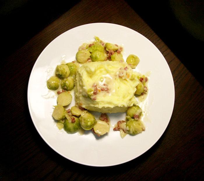 Rosenkohl-Kartoffelpüree