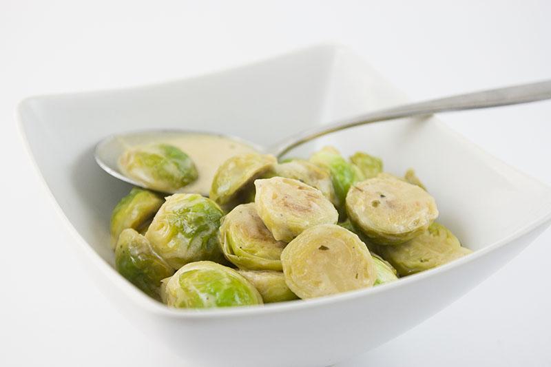 Rosenkohl-senf-sauce