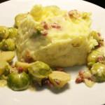 Rosenkohl mit Kartoffelpüree
