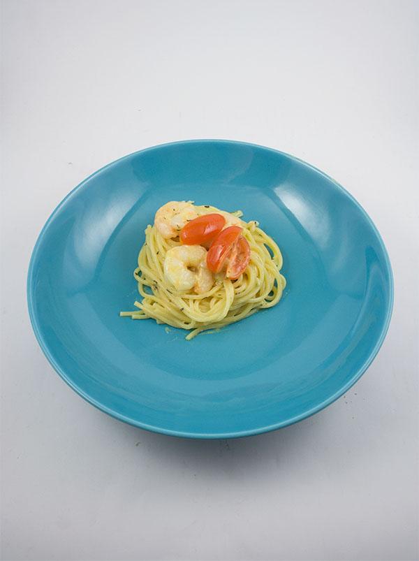 Spaghetti-garnelen-weißwein